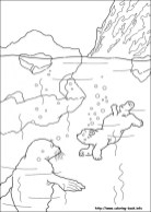 Preschool Printables of Polar Bear Coloring Pages Free b3hca
