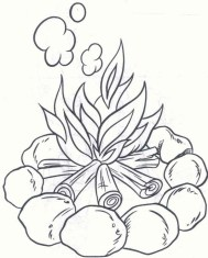 Printable Camping Coloring Pages Online 59307