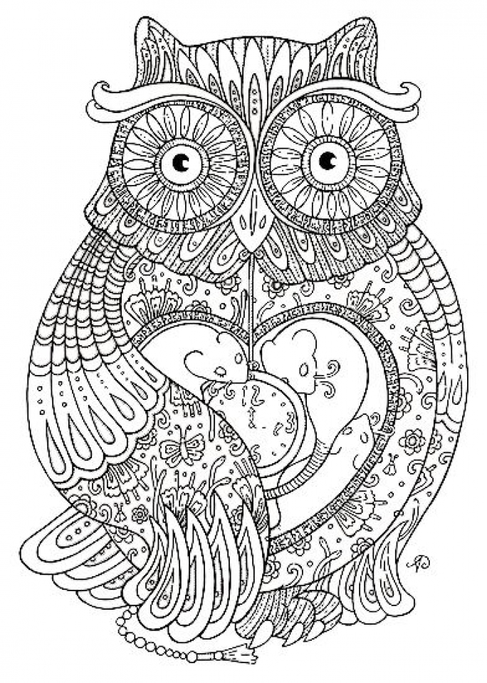 Printable Grown Up Coloring Pages   78757