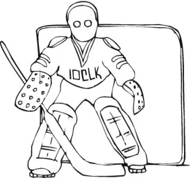 Printable Hockey Coloring Pages Online 59307