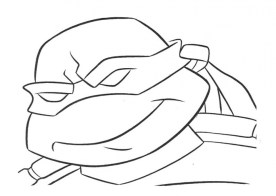 Printable Ninja Turtle Coloring Page 84618