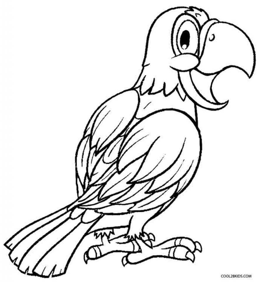 Get This Printable Parrot Coloring Pages Online 51321