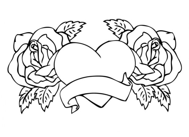 Get This Printable Roses Coloring Pages For S 63679