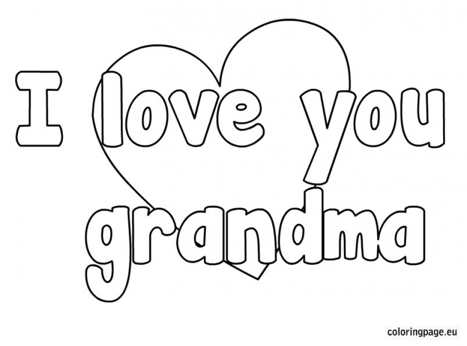 Printables for Toddlers   I Love You Coloring Pages Online Free   m7pzl