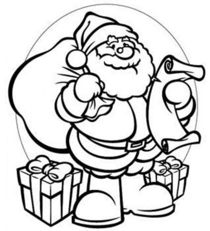 20 free printable santa coloring pages  everfreecoloring