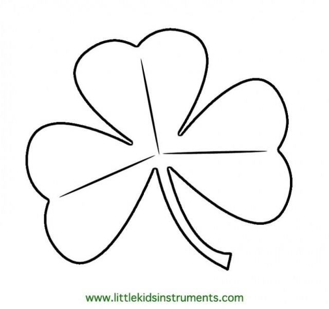 Get This Shamrock Coloring Pages Online Printable nhywg !