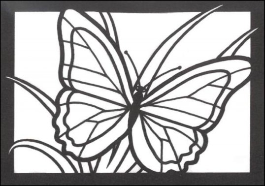 Stained Glass Coloring Pages Free Printable 13110