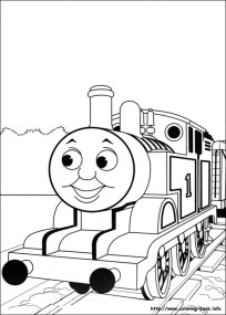 Thomas And Friends Coloring Pages Printable for Kids xi226