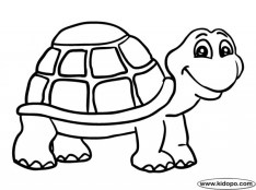 Turtle Coloring Pages Free for Kids e9bnu
