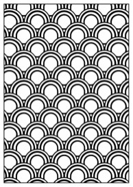 Art Deco Patterns Coloring Pages for Grown Ups fdh568