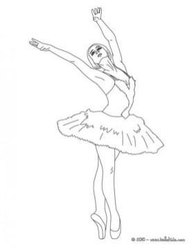 Ballerina Coloring Pages Free Printable q8ix10