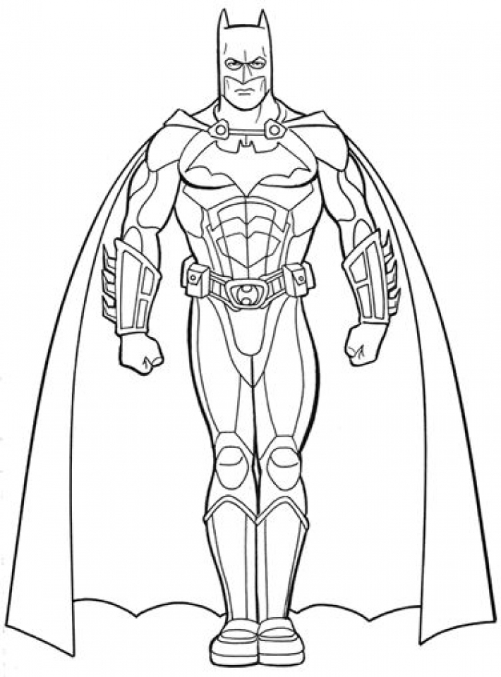 Batman Coloring Pages Free Printable   679163