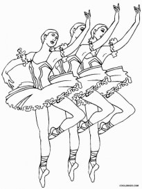 Beautiful Ballerina Coloring Pages 558493