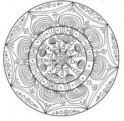 Complex Coloring Pages for Adults 92B57