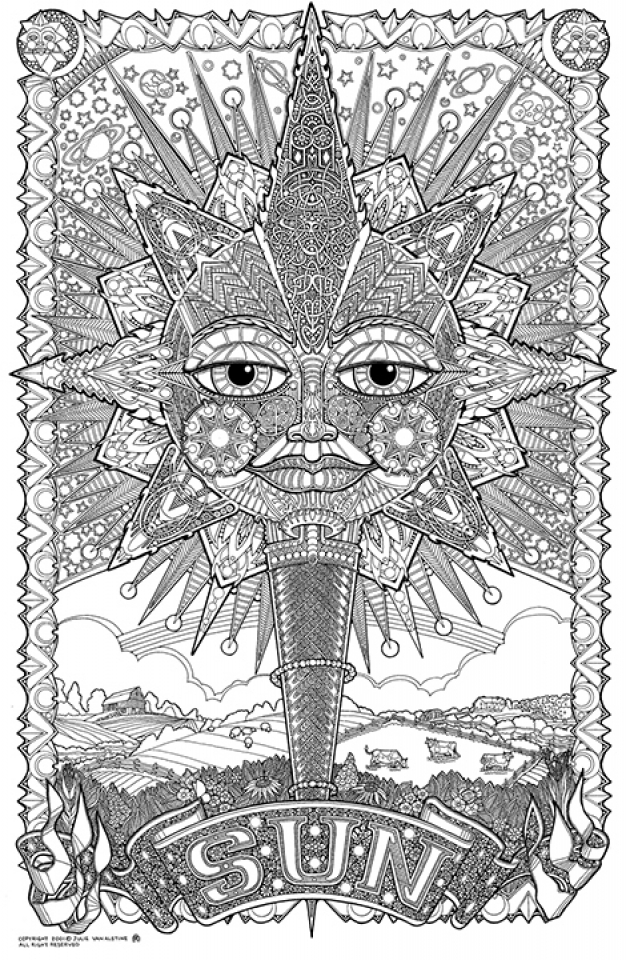 get this difficult trippy coloring pages for grown ups x8br6