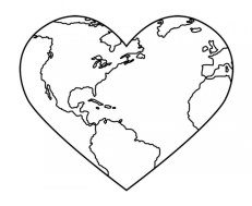 Earth Coloring Pages Free Printable fyo100