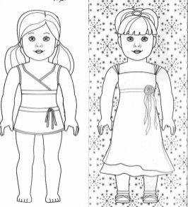 Free American Girl Coloring Pages 2srxq