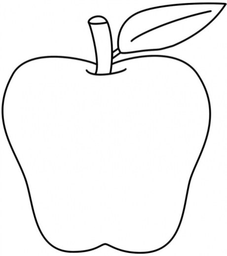 Free Apple Coloring Pages to Print rk86j