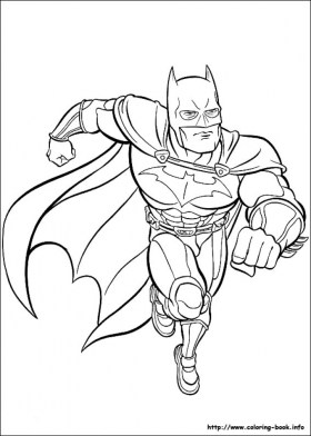 Free Batman Coloring Pages 119161