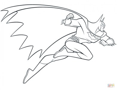 Free Batman Coloring Pages 834921