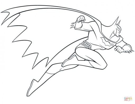 Free Batman Coloring Pages 834921