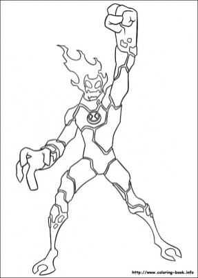 Free Ben 10 Coloring Pages 72ii9