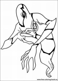 Free Ben 10 Coloring Pages to Print v5qom