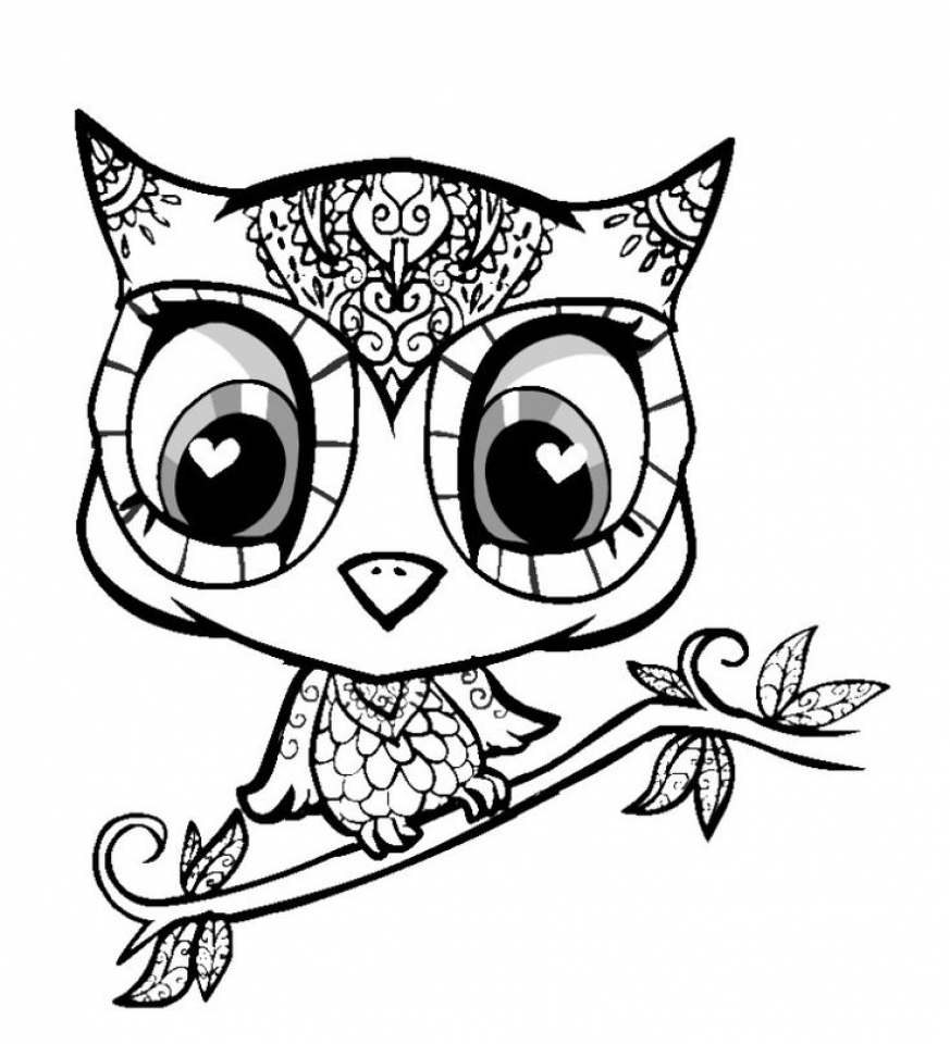 Free Cute Coloring Pages   34753