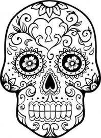 Free Dia De Los Muertos Coloring Pages 72ii10