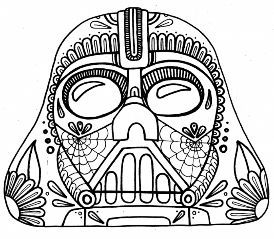 Get This Free Dia De Los Muertos Coloring Pages To Print T29m10
