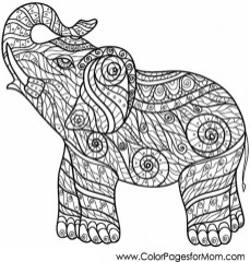 Free Difficult Animals Coloring Pages for Grown Ups 327VB7