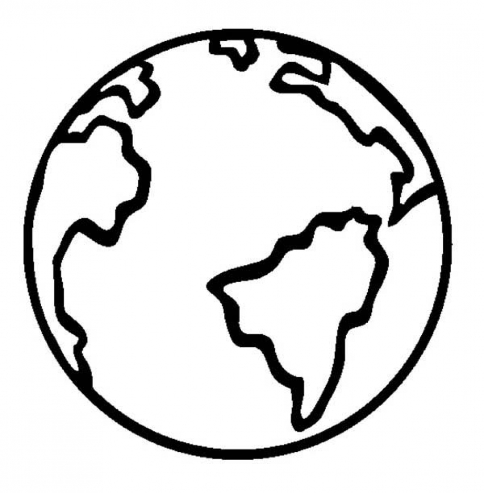 Free Earth Coloring Pages to Print   v5qom