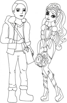 Free Ever After High Coloring Pages to Print 62617
