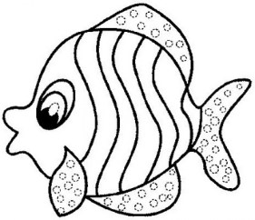 Free Fish Coloring Pages 467398
