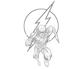 Free Flash Coloring Pages 2srxq