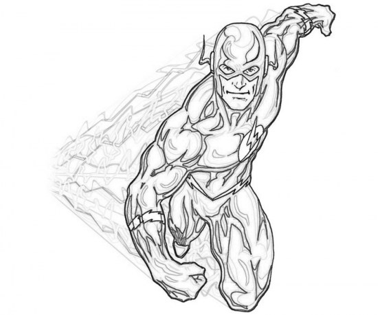 Free Flash Coloring Pages 72ii22