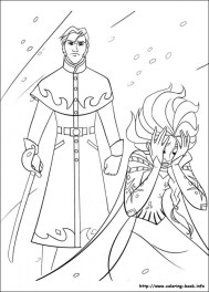 Free Frozen Coloring Pages 492372
