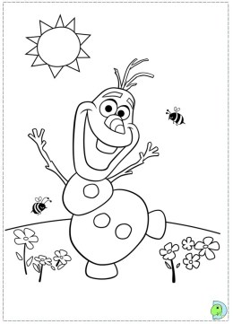 Free Frozen Coloring Pages to Print 457043