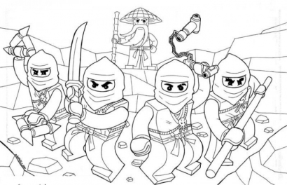 Free Lego Ninjago Coloring Pages 706103