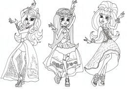 Free Monster High Coloring Pages to Print 415123