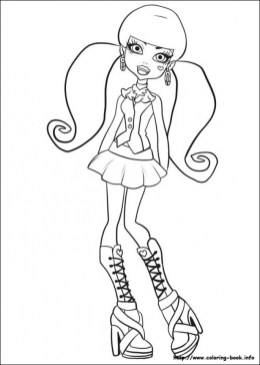Free Monster High Coloring Pages to Print 920522