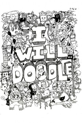 Free Printable Doodle Art Advanced Coloring Pages 60cf5