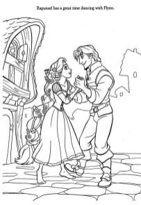 Free Rapunzel Coloring Pages to Print Disney Princess W5D6C