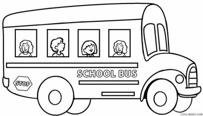 Free School Bus Coloring Pages 2srxq