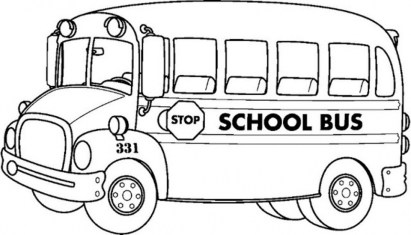 Free School Bus Coloring Pages 72ii11