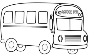 Free School Bus Coloring Pages to Print t29m11