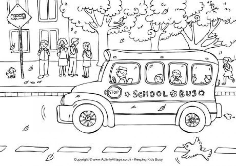 Free School Coloring Pages to Print   t29m18
