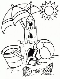 Free Summer Coloring Pages to Print 920514