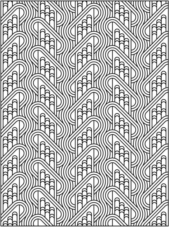 Free Tessellation Coloring Pages Adult Printable   61276