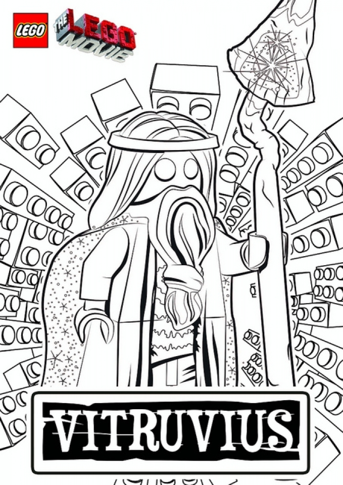 Free The Lego Movie Coloring Pages   5714